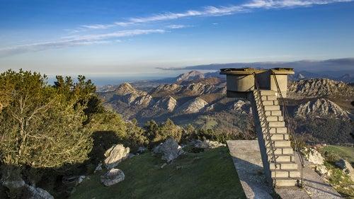 Mirador de Fitu en Asturias