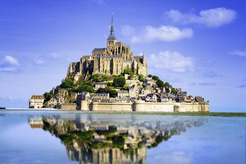 Mont Sint Michel en Francia