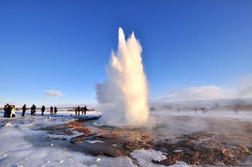 Geyser Park en Islandia