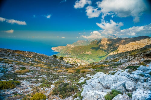 La sierra de Tramuntana, un tesoro en Mallorca