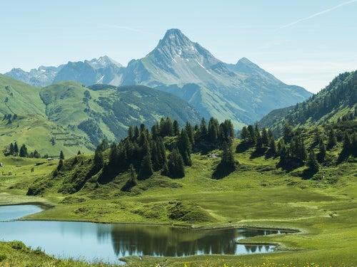 Lago Kabelesee en Austria