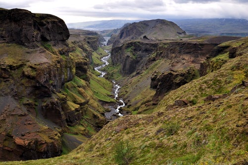 Valle de Thorsmok en Islandia