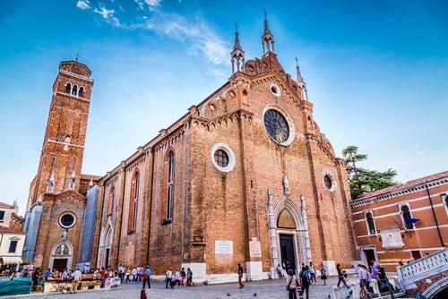 Santa Maria Gloriosa dei Frari en Venecia