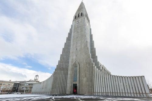 Hallgrimskirkja-Islandia