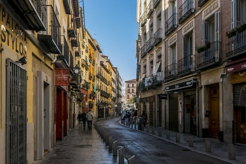 Barrio de La Latina en Madrid
