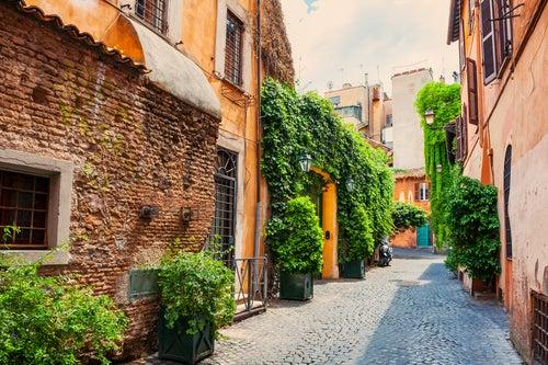 Trastevere en Roma
