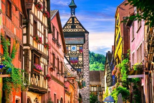 Riquewihr en Alsacia