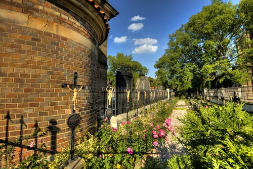 Cementerio Vysehrad en Praga