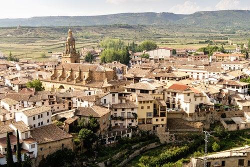 Rubielos de Mora, visitamos el Pórtico de Aragón