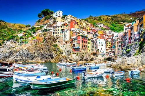 Riomaggiore en Italia