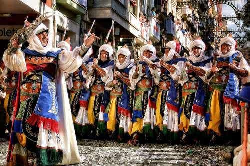 Un recorrido por las fiestas más espectaculares de España