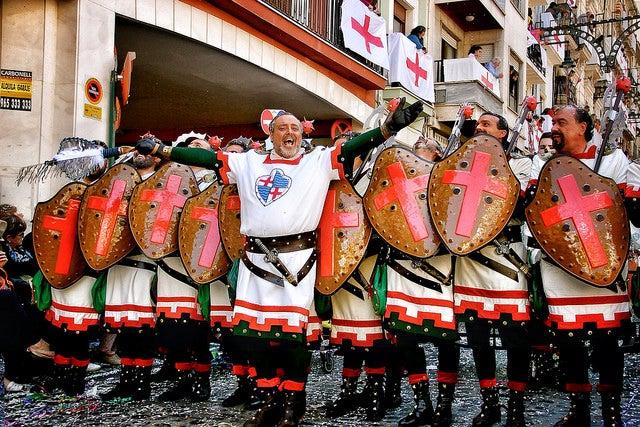 Fiestas de Moros y Cristianos, Alcoy