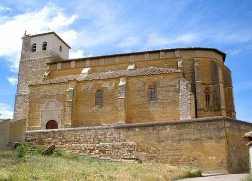 Iglesia de SantaMaría del Castillo en Frómista