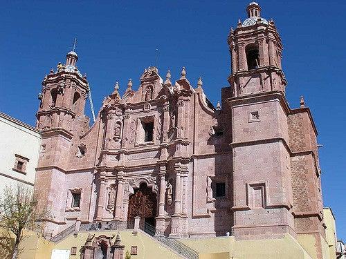 Iglesia de Santo Domingo en Zacatecas