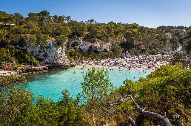 Cala Llombards en Mallorca