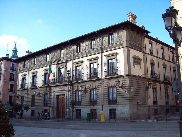 Palacio Abrantes en Madrid