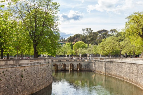 Jardines de La Fontaine en Nimes