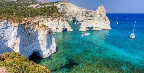 Milos en las islas griegas