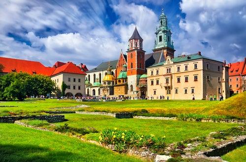 Castillo de Wawel en Cracovia
