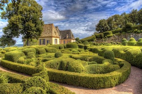 Jardines de Marqueyssac en Perigord