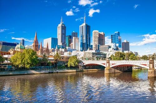 Melbourne, una de las ciudades de Australia