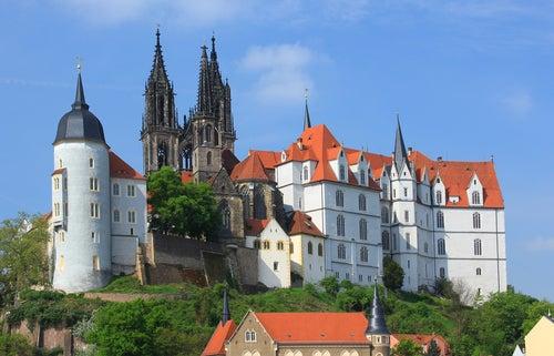castillo de Albrechtsburg en Meissen