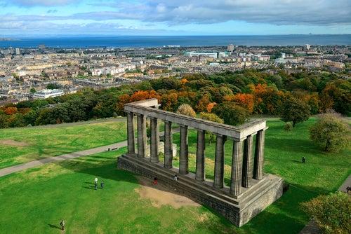 Calton Hill en Edimburgo