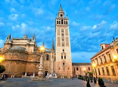 Giralda de Sevilla, lugar para visitar en el mapa de España