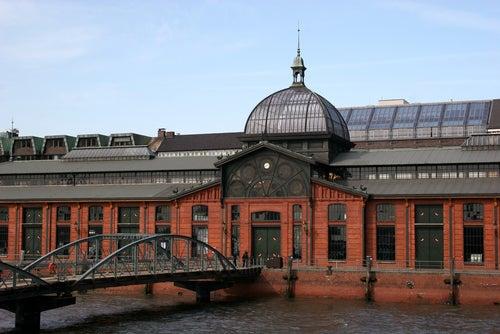 Fischmarkt en Hamburgo