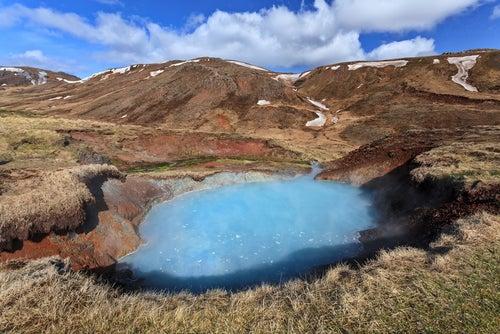 Reykjadalur en Islandia