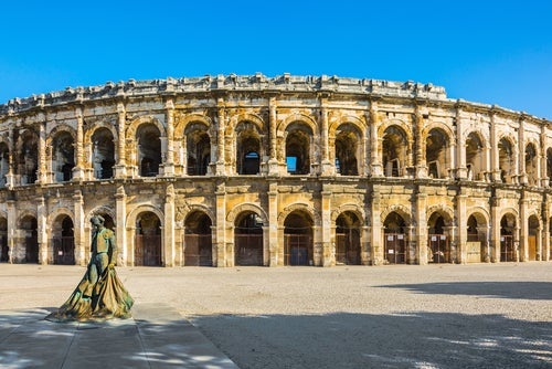 Anfiteatro romano de Nimes