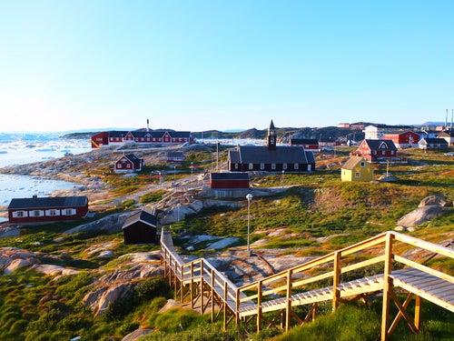 Ilulissat en Groenlandia