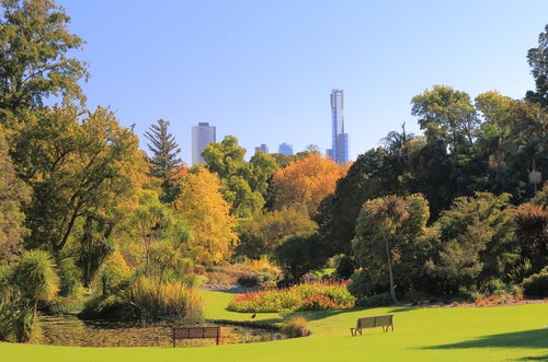 Jardín Botánico Melbourne