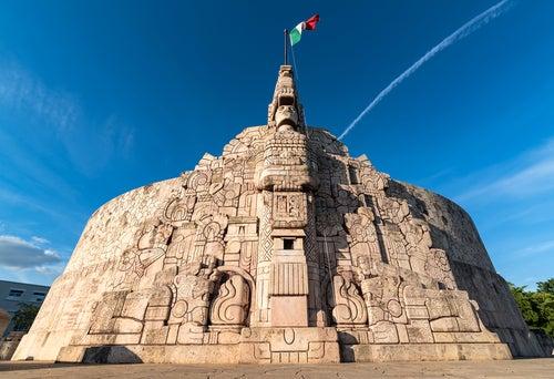 Paseo Montejo en Mérida México