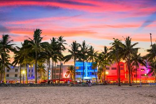 Ocean Drive en Miami