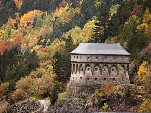 Torre de Fusileros en Canfranc