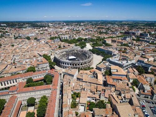 Nimes, un tesoro de la antigua Roma en Francia