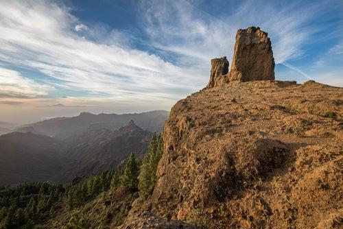 Roque Nublo en Gran Canaria