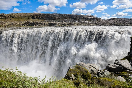 Detifoss en Islandia