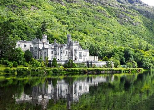 Abadía Kylemore en Irlanda