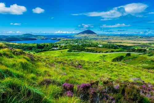 Connemara en Irlanda