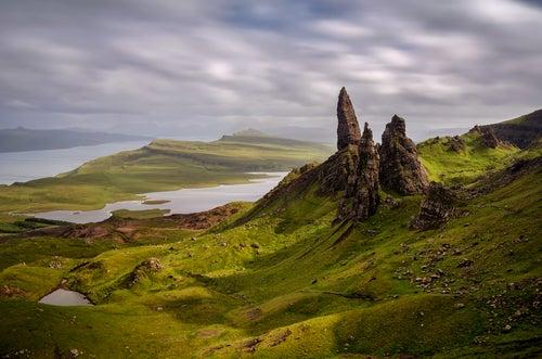 Skye en Escocia