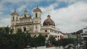 Tegucigalpa en Honduras