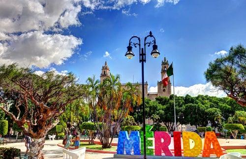 Plaza Grande Mérida en Mexicco