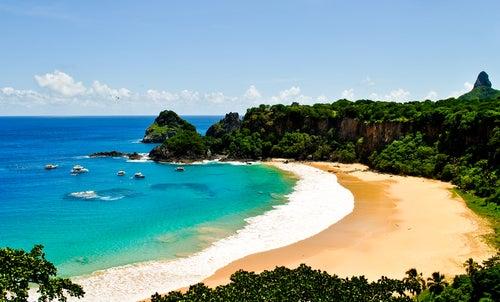 Fernando de Noronha en Brasil, lo más parecido al paraíso