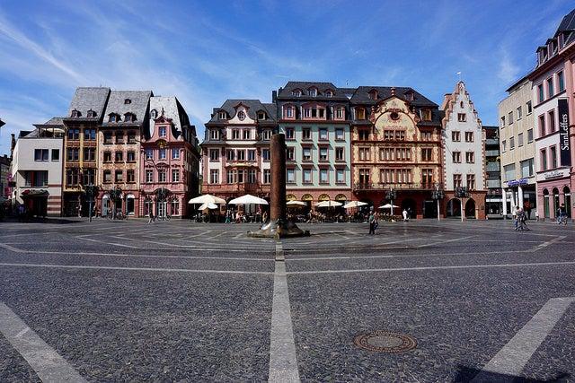 Maguncia en Alemania, la ciudad de Gutenberg