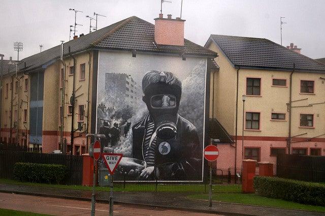 Mural en Londonderry