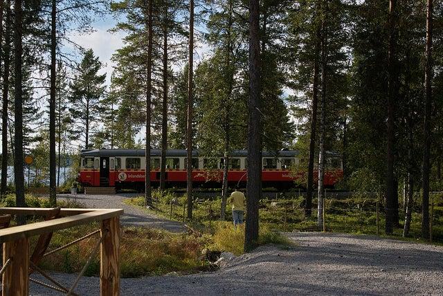 Tren panorámico Inlandsbanan