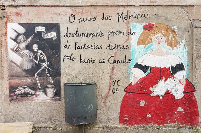 Meninas en Ferrol