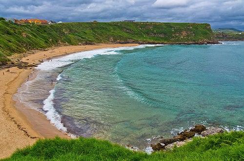 Playa de los Locos en Asturias